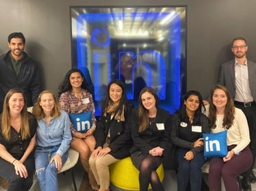 NYC Trek to LinkedIn